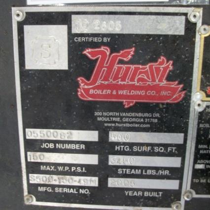 194-FS05163- 100 HP HURST STEAM BOILER (5)