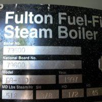 197-FS05166 15 HP FULTON BOILER- W(5)