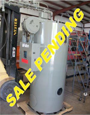 197-FS05166 15 HP FULTON BOILER- W(7)SALE PENDING