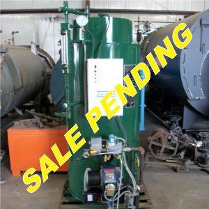 198-FS05167 15 HP COLUMBIA BOILER- (8) SALE PENDING