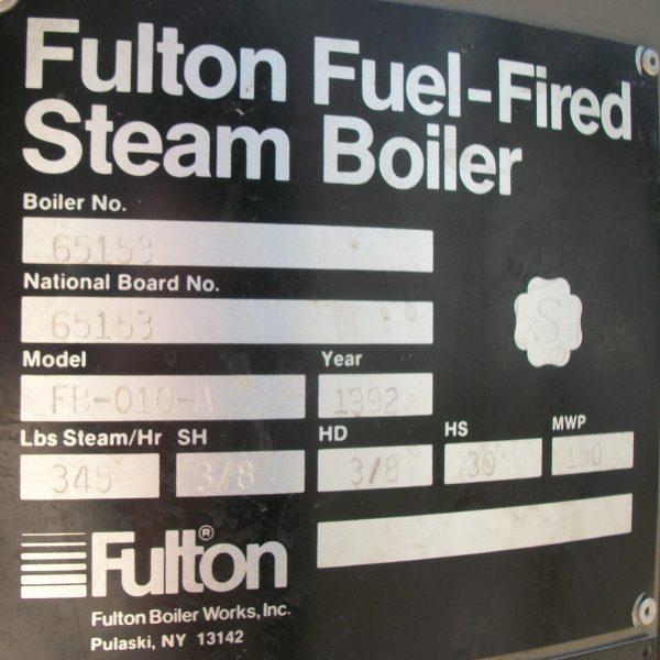 199-FS05168 10 HP FULTON BOILER- (5)