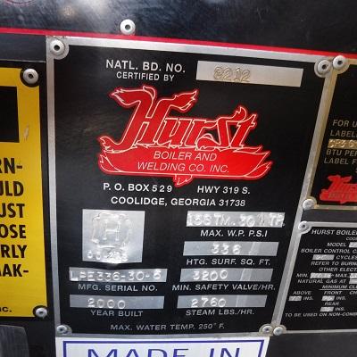 224-FS11171 80 HP HURST NB# 8212 (4)