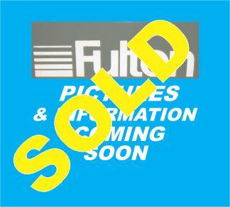 242-FS08186 100 HP FULTON VMP 2011 SOLD
