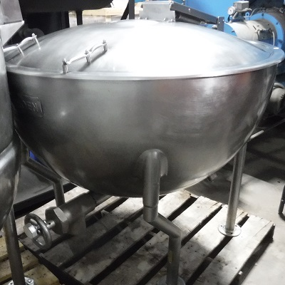 228-FS12173 STEAM KETTLE NB# 55592 - (8)