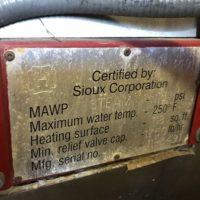 264-FS06192 20 HP SIOUX STEAM PRO (1)