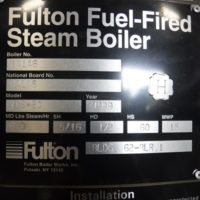 270-FS08195 20 HP FULTON NB# 84146 (4)