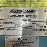276-FS11192 250 HP CLEAVER BROOKS NB# 15635 (1)