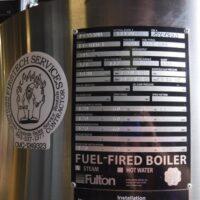 293-FS10206 10 HP FULTON STEAM BOILER 2004 USED (1)