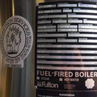 293-FS10206 10 HP FULTON STEAM BOILER 2004 USED (2)