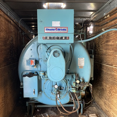 300-FS11203 125 HP CLEAVER BROOKS 1991 SER.# L-90439 (2)