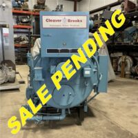 290-FS10203 30 HP CLEAVER BROOKS 2002 NB# 6576 (2) SALE PENDING